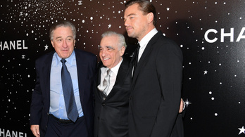 Már megint elképzelhetetlenül drága lesz Scorsese, DiCaprio és DeNiro filmje