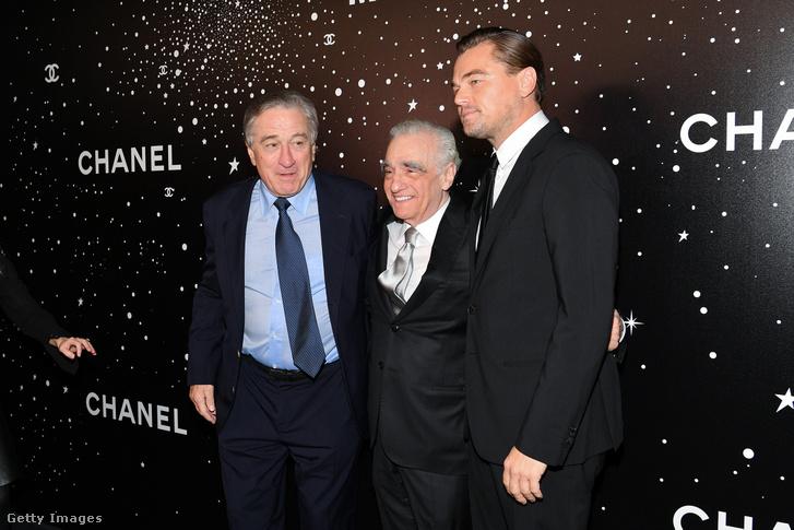 Robert DeNiro, Martin Scorsese, Leonardo DiCaprio