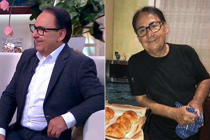 A bal oldali kép 2019 májusában készült róla, a jobb oldali pedig egy évvel később.