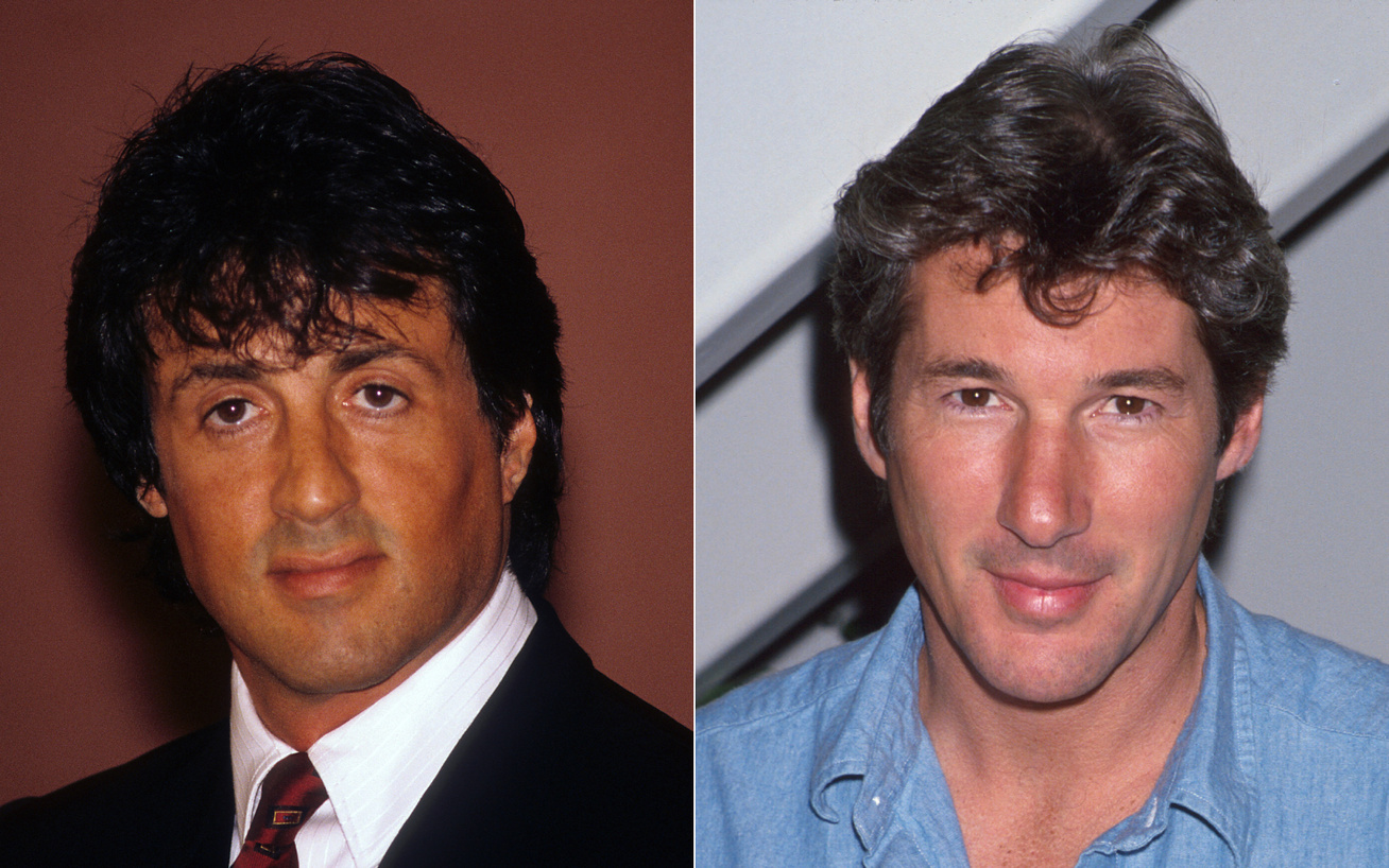 sylvester stallone richard gere cover
