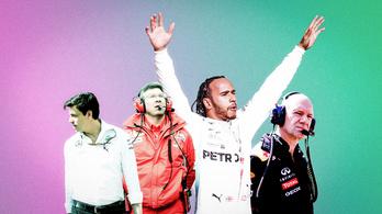 Schumacher és Senna sem került be az F1 álomcsapatába