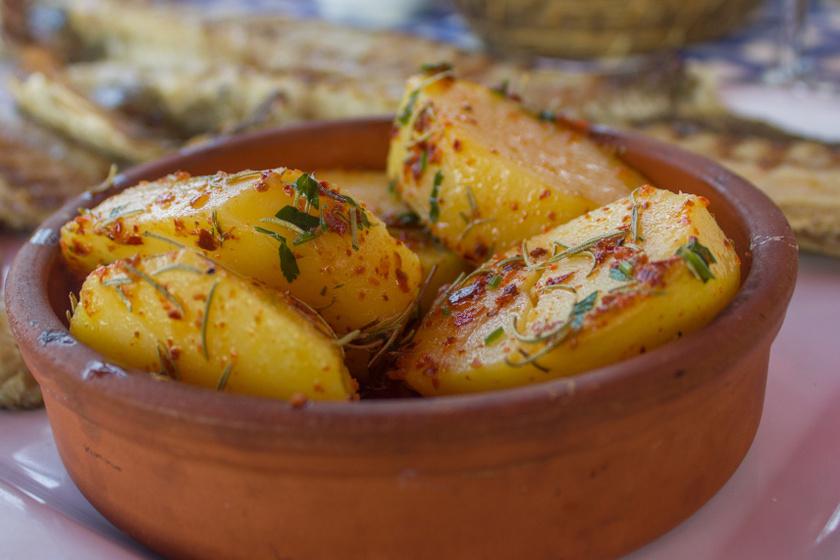 majonézben sült krumpli recept