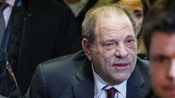 Négy nemi erőszak miatt állhat ismét bíróság elé Harvey Weinstein