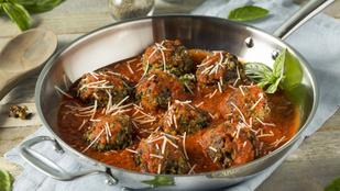 Vegetáriánus padlizsángombócok – gluténmentes recept