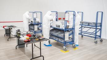 Százmillió forintos üzemcsarnokban kezdődik a magyar lélegeztetőgépek gyártása