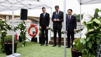 Magyar-koreai közös terv alapján készül a Hableány-emlékmű
