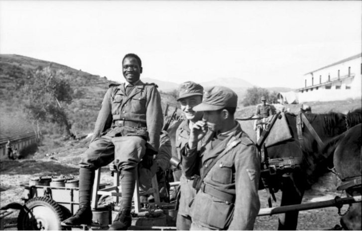 A Szabad Arab Légió katonái Görögországban
