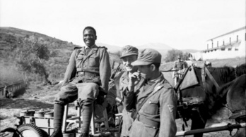 Fekete és arab önkéntesek is szolgáltak a nácik hadseregében