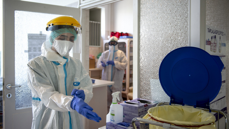 Meghalt újabb 7 beteg, 1201 aktív fertőzött van az országban