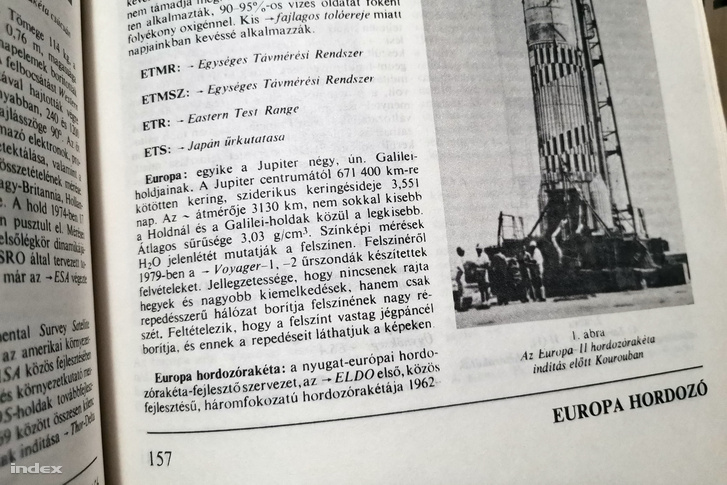 A Jupiter holdjai és az Europa szócikk az Űrhajózási lexikonban (Főszerkesztő: Almár Iván, Akadémiai Kiadó, Zrínyi Katonai Kiadó, Budapest, 1981)