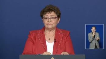 Müller Cecília: A járvány továbbra is lecsengőben van - az operatív törzs május 29-i tájékoztatója