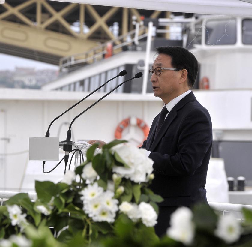 Csö Kju Szik, a Koreai Köztársaság magyarországi nagykövete.