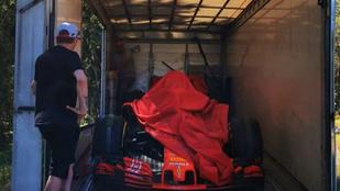 Káprázatos ajándékot kapott Räikkönen a karanténban