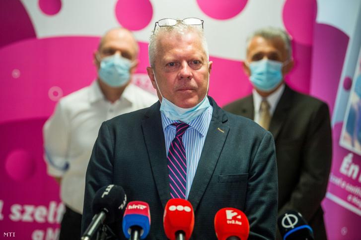 Vályi-Nagy István, a Dél-pesti Centrumkórház Országos Hematológiai és Infektológiai Intézet főigazgatója