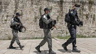 Azt hitték, fegyver van nála, izraeli rendőrök lelőttek egy palesztin férfit