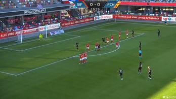 Álomgóllal tért vissza a futball Dániában