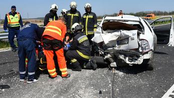 A járvány lecsengésével újra nőtt a közúti balesetek száma
