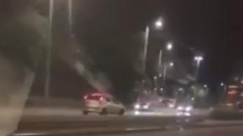 Egy kilométeren át ment szembe a forgalommal egy autós a Könyves Kálmán körúton