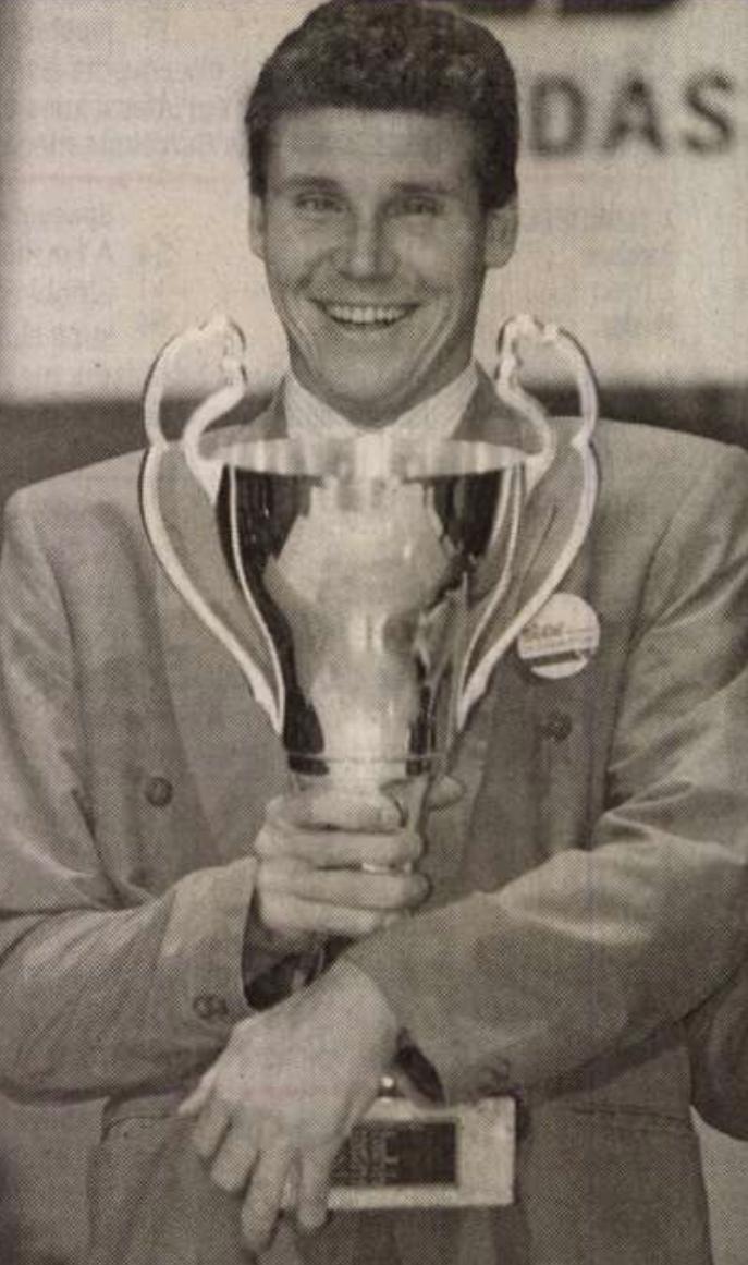 Darnyi Tamás a Budapest Kongresszusi Központban 1993. február 1-jén az Év Sportolója-díj átadási ünnepségen.