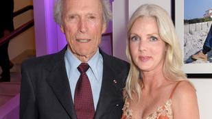 A ma 90 éves Clint Eastwood 35 évvel fiatalabb barátnőjével ünnepel