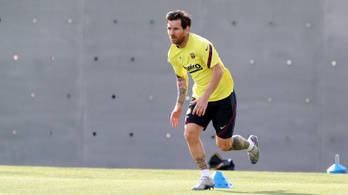 Messi: Megérzi a futball a járvány hatását