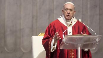 Ferenc pápa szerint a remény vész el, ha pesszimistán állunk a járvány utáni időkhöz
