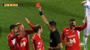 Kleinheisler piros lapja után bukta 0-2-ről a kupaelődöntőt az Eszék