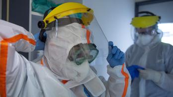 576 egészségügyi dolgozó kapta el a koronavírust Magyarországon