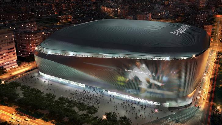 A felújított Real-stadion tervei