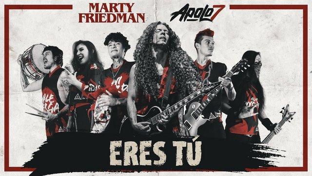 Kolumbiai csapattal zenélt közösen Marty Friedman