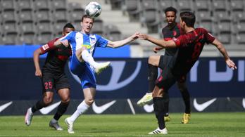 Új Bundesliga-rekord: egy meccsen 14,34 km-t futott a Hertha-játékos