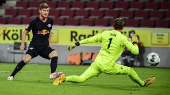 A Lipcse megint négyet vágott a Kölnnek, Gulácsi hatalmas gólpasszt adott