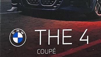 Kiszivárogtak az új 4-es BMW képei