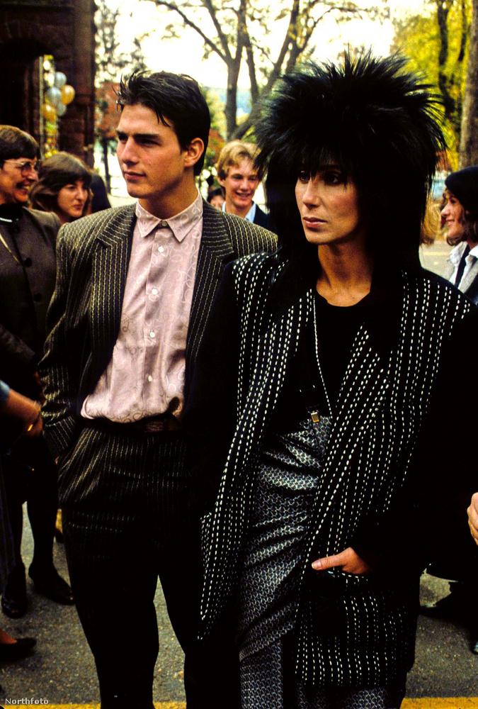 Igen, ez tényleg váratlan lehetett: Tom Cruise és Cher egy pár voltak