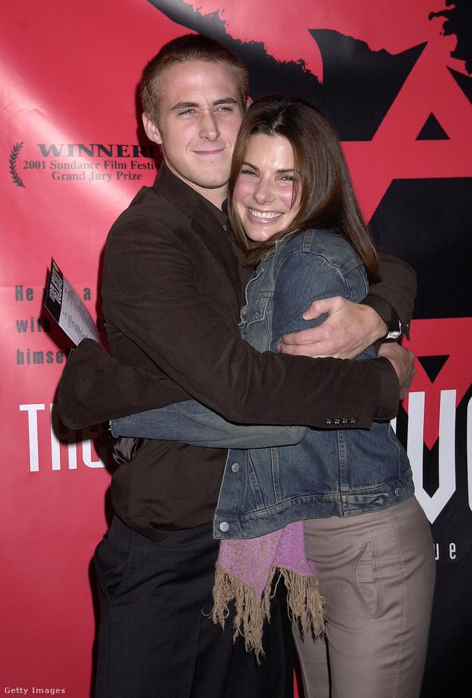 Akár hitte volna, akár nem, Ryan Gosling és Sandra Bullock is együtt voltak: 2002-2003