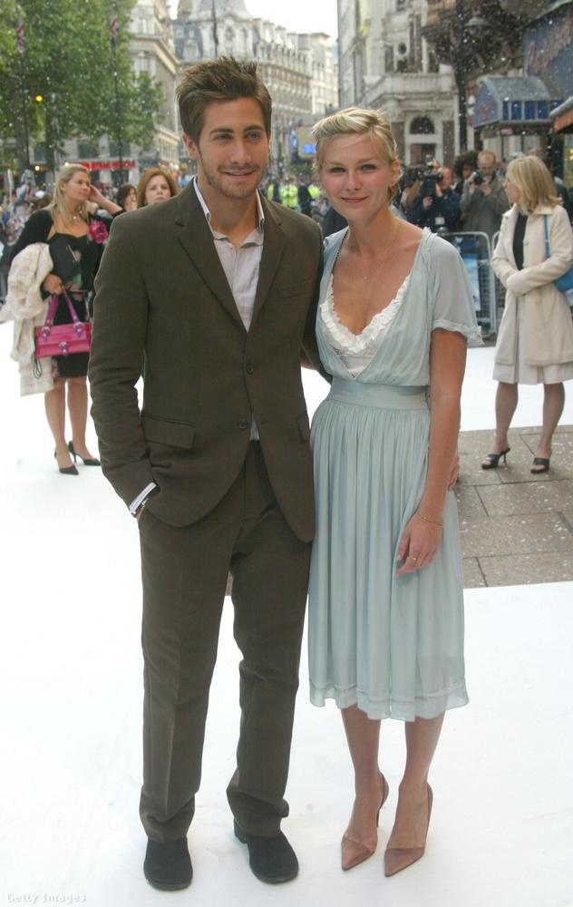 Jake Gyllenhaal és Kirsten Dunst nagykából ugyanekkor jártak (összesen két évig), csak egy évvel tovább bírták