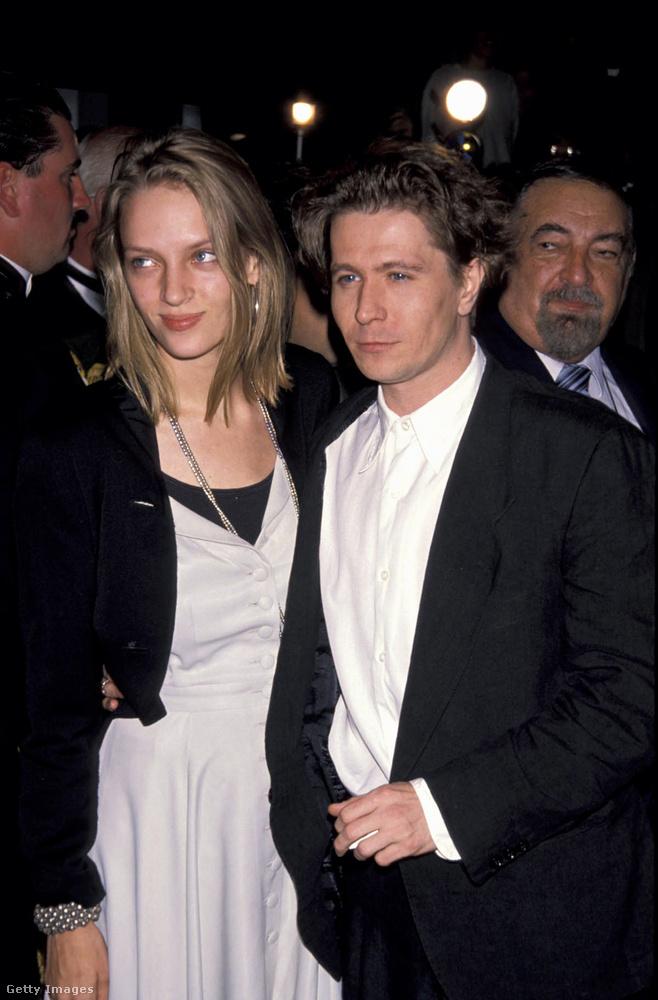 Uma Thurman és Gary Oldman 1990-ben jöttek, majd házasodtak össze