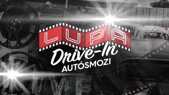 Csütörtökön nyit a Lupa Drive-in Autósmozi!