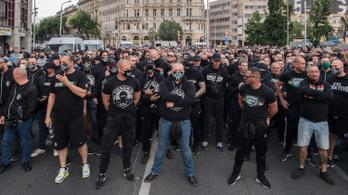 Az ORÖ nem érti, miért nem oszlatta fel a rendőrség a saját korábbi tiltása ellenére sem a Mi Hazánk rendezvényét