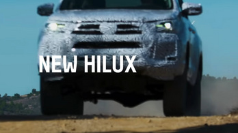 Álcázva mutatta meg a Toyota az új Hiluxot