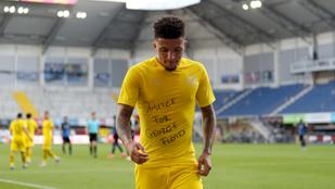 A FIFA azt kéri George Floyd halála miatt, hogy ne vegyék szó szerint a szabálykönyvet