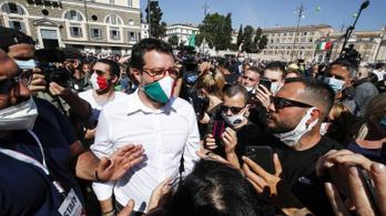 A Magyar Távirati Iroda kampányanyagot készített az olasz Matteo Salvininek