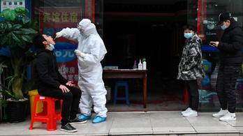 Tízmillió embert teszteltek Vuhanban, csak 300 fertőzöttet találtak