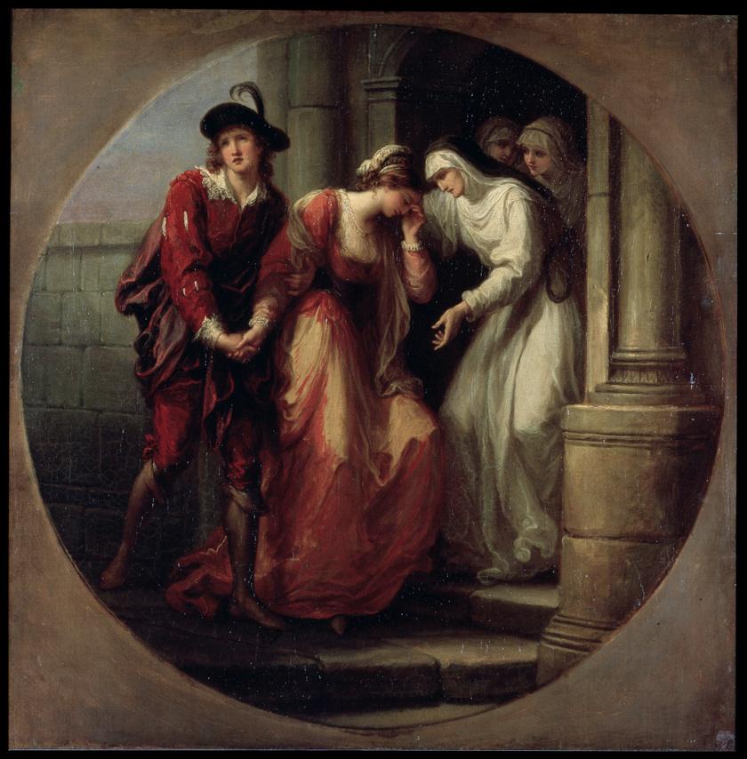 Héloïse és Abélard elválása