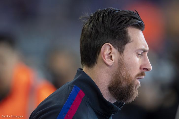Messi és a Barcelona március 7-én, a Real Sociedad ellen lépett utoljára pályára