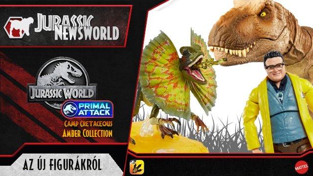 Jurassic Newsworld: új Amber és Camp Cretaceous figurákról