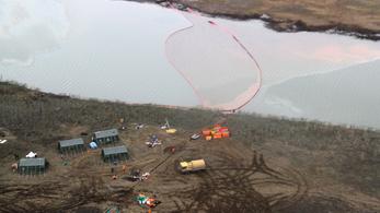 20 ezer tonna olajszármazék ömlött egy szibériai folyóba