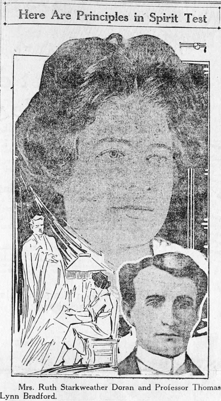 Ruth Starweather Doran és Thomas Lynn Bradford professzor.