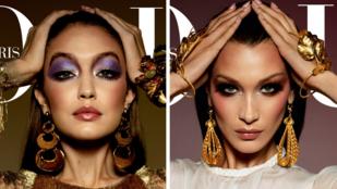 Mindkét Hadid nővér külön Vogue címlapot kapott, ön szerint melyik lett a dögösebb?