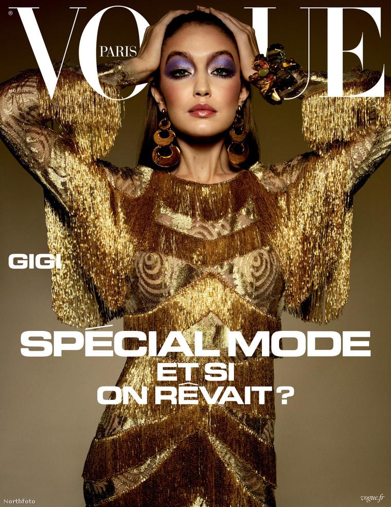 Gigi Hadid a Vogue címlapján